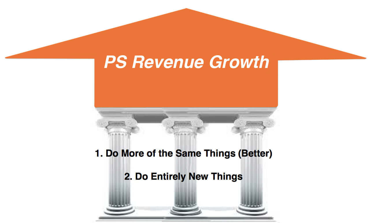 professional services revenue growth