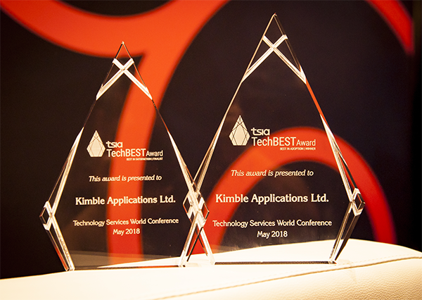 techbest awards zimit and kimble applications