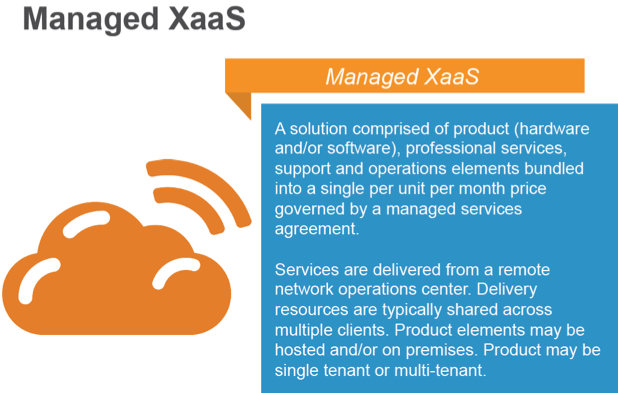 managed xaas definition